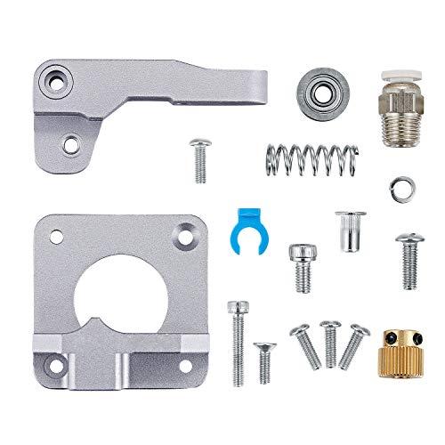 Extrusora de metal TUZUK MK8, piezas de impresora 3D de actualización Extrusora Bowden de bloque de aleación de aluminio Filamento de 1.75 mm para Creality 3D Ender 3,CR-7,CR-8,CR-10,CR-10S, CR-10