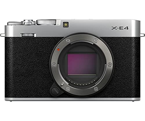 Fujifilm X-E4 Cuerpo, Color Plateado