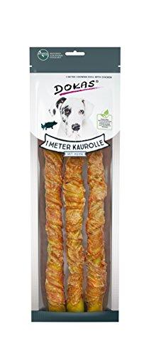 DOKAS Getreidefreier Premium Kausnack für Hunde – Ideal für große Hunde