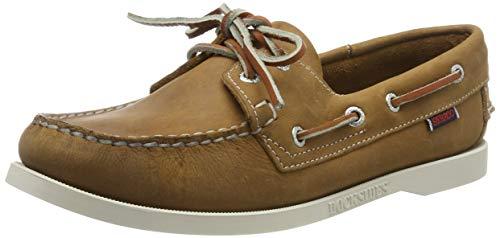 Sebago Docksides Portland W, Chaussures Bateau Femmes, Marron (Brown Tan 912), 38 EU