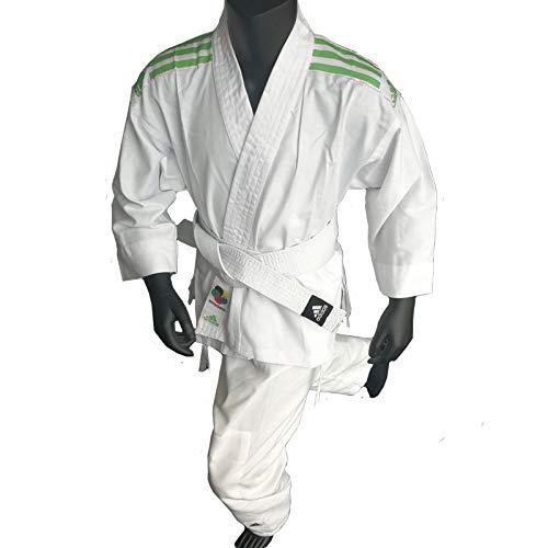 Karate Anzug K200 Junior weiß/grün...