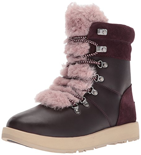 Botas piel 1017493 Viki Waterproof UGG Talla: 38 Color: BURDEOS