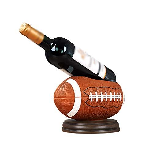 YNLRY Estante para vinos Estante para Botellas de Vino Estante para vinos Creativo Estante Estante para Botellas de Vino Decoración del hogar Decoración para estantes de Vino Personalizada