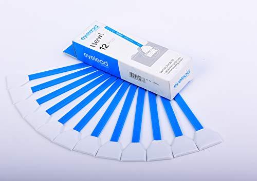 eyelead Sensor Reinigungs Swabs (24mm, 12 Stück) blau