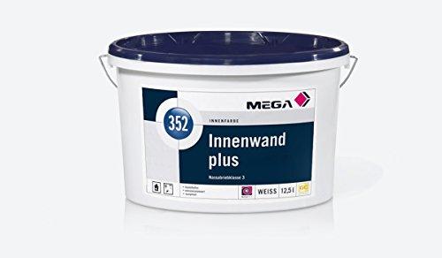 Original Mega 352 Innenwand Profi Innenfarbe / Wandfarbe für Innen (12,5)