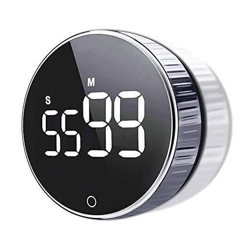 Temporizador de cocina digital LED para cocina ducha estudio cronómetro despertador magnético electrónico cocina cuenta atrás tiempo temporizador