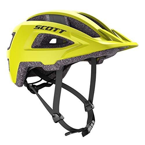 Scott Groove Plus 2021 - Casco para bicicleta, talla S/M (52-58 cm), color amarillo