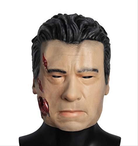 tytlmask La Máscara De Látex Terminator, Máscaras De Disfraces De Halloween, para Cosplay, Volveré Juguetes Suaves
