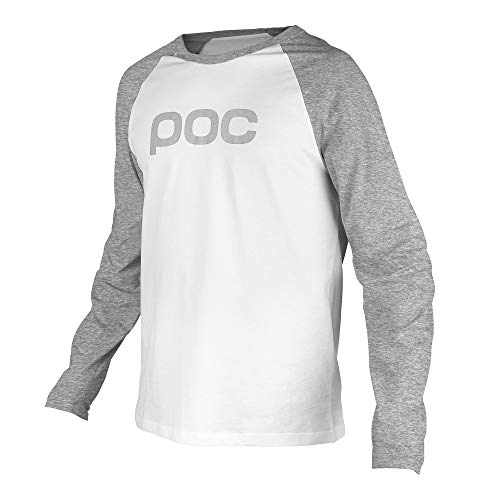 POC T-shirt Raglan Jersey, Paladium Grey/Hydrogen White, XL