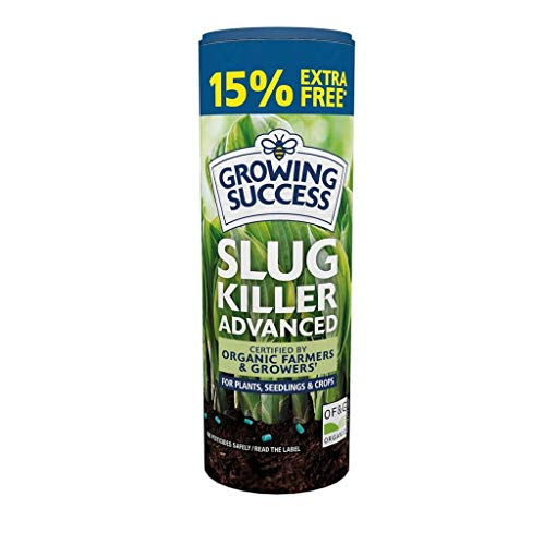 Growing Success 20300531 Advanced Slug Killer Granules 575G (Includes 15% Extra Free)