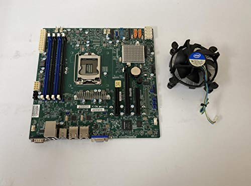 Supermicro Mainboard MBD-X11SSL-F-B Xeon E3-1200 v5 LGA1151 Sockel H4 C232 PCI Express SATA MicroATX Bulk