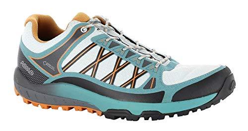 Asolo Grid GV ML Sky Grey Chaussures de sport multifonctionnelles avec Goretex et semelle vibrante pour femme - Gris - Sky Grey North Sea., 38 EU
