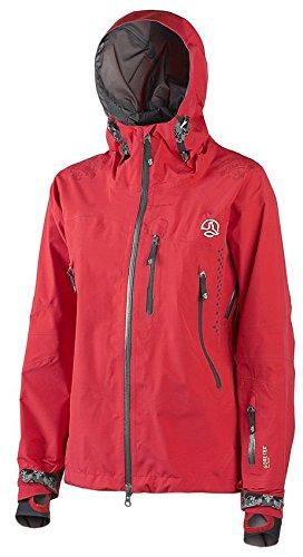 Ternua® PRO Veste oceansky Gore Tex Femme Taille XXS/XS Rouge 3 couche Veste outdoor