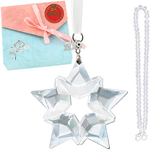Christmas Ornament, Christmas Ornament 2019, Crystal Christmas Ornament, Snowflake 2019 Christmas Ornament, the best Christmas Ornament for 2019