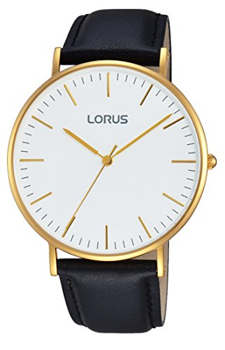 Lorus Watches dameshorloge klassiek analoog kwarts leer RH882BX9