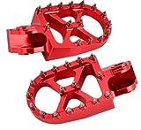 Fußrasten, Aluminium, CNC, rot, für Gas EC, Beta RR und KTM
