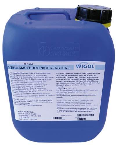 Verdampferreiniger C-Steril von Wigol - 5 kg Kanister
