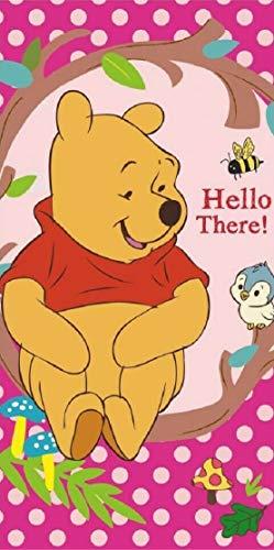 for-collectors-only Winnie the Pooh - Toalla infantil (70 x 140 cm), diseño de Winnie the Pooh