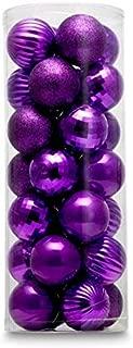 dark purple ornaments