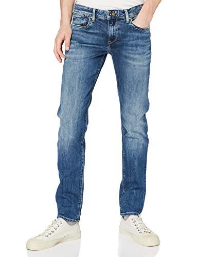 Pepe Jeans Hatch Vaqueros, Blue Denim Z23, 33W / 32L para Hombre