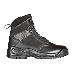 The A.T.A.C 2.0 Side Zip 6-inch boot features a full-length dual durometer Ortholite foot bed with Achilles heel flex zone for enhanced comfort and flexibility. Ortholite Acilles cuff for extra comfort. This tactical boot has a shock mitigation syste...