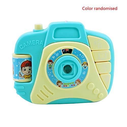 Floridivy Willekeurige kleur Cartoon Camera Toy kinderen educatief Studie Toys knipperlicht Projection Sounding elektrisch aangedreven speelgoed