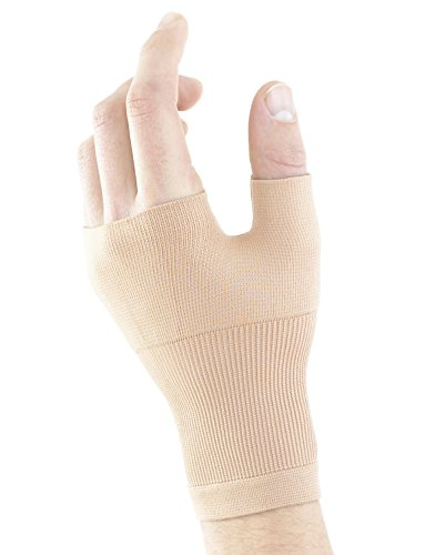 Neo G Wrist and Thumb Support - Ideal for Arthritis, Joint Pain, Tendonitis, Sprains, Hand Instability, Sports - Multi Zone Compression Sleeve - Airflow - Class 1 Medical Device - Medium - Tan