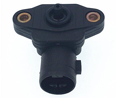 HZTWFC Capteur de pression d'air de collecteur MAP Sensor OEM # 37830P05A01 37830-P05-A01 pour Honda Accord Civic 4 5 CR-V S2000 - CRX HR-V Integra Odyssey Prelude - Rover Acura