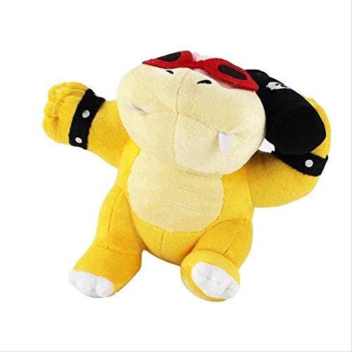 N-T Doux et Confortable Super Mario en Peluche Dragon de feu Enfant poupée Environ 20 cm adapté aux Vacances ou aux Cadeaux d'anniversaire pour Enfants
