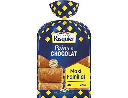 Brioche Pasquier Pains au chocolat au levain - Le paquet de 16, 720g