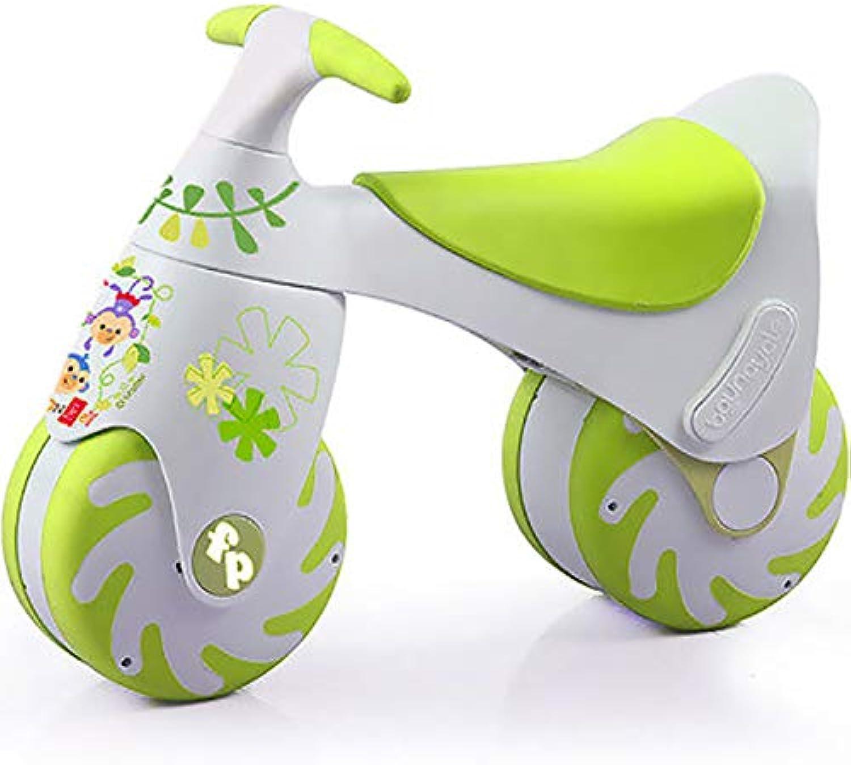 CHEERALL CHEERALL CHEERALL Baby Balance Bike Push Bicicleta sin Pedal, Juguetes Infantiles para Niños pequeños, Mini Triciclo de Entrenamiento, Estructura Estable, Primera Bicicleta para 1-3 años,verde  nuevo estilo
