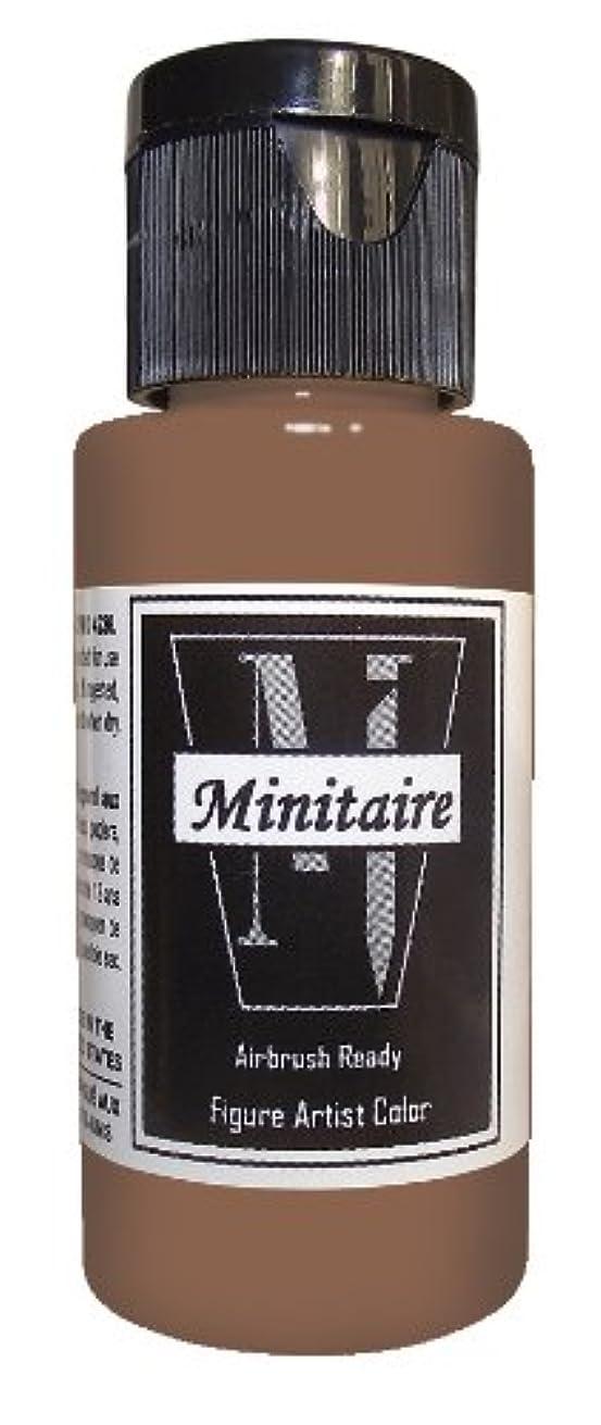 Badger Air-Brush Company 2-Ounce Bottle Miniature Airbrush Ready Water Based Acrylic Paint, Bark