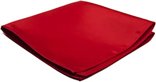 Jacob Alexander Men's Pocket Square Solid Color Handkerchief