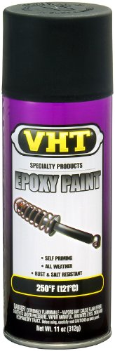 VHT SP652 Satin Black Epoxy All Weather Paint Can - 11 oz.