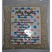 Clearly Clear - JellyBeadZ - Clear 2.5-3.0 mm Water Beads-Centerpiece Wedding Tower Vase Filler-Makes 6 Gallons with a  8 Ounce Pack