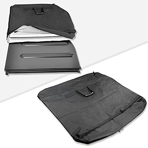 Freedom Panel Hard Top Storage Bag with Handle Waterproof and Wear-Resistant Comapatible with Jeep Wrangler JK JKU JL JLU 2-Door & 4-Door 2007-2020