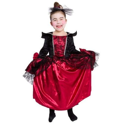 Imaginarium Halloween VAMPICHIC 116-122 Disfraz de vampiresa (6-7 años)