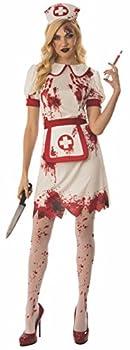 Rubie s Women s Bloody Nurse Costume As Shown Medium