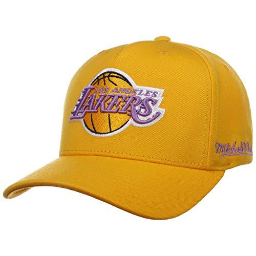 Mitchell & Ness Gorra Redline Dropback Lakers& de Beisbol Baseball (Talla única - Amarillo)