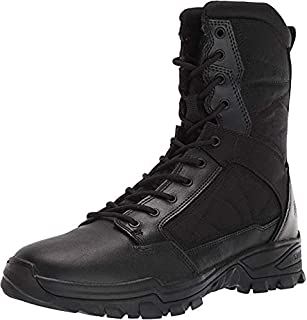 Tactical Men's Fast-Tac 8-Inch Leather Waterproof Combat Military Boots, Style 12387