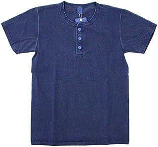 Velva Sheen(ベルバシーン) ピグメント 顔料染め 半袖 ヘンリーネックTシャツ PIGMENT S/S HENLEY TEE 161517