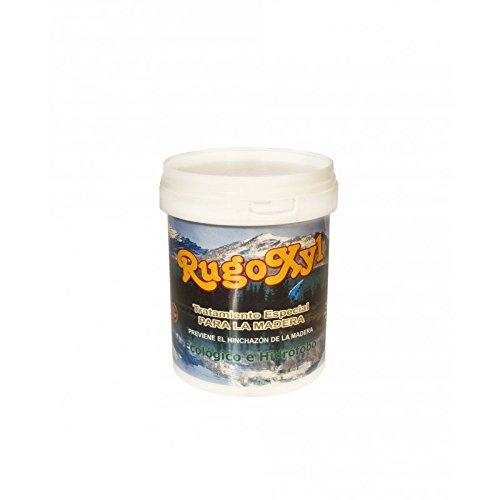 Barniz al agua alta gama al uso satinado para la madera o imitación madera en balaustres, paredes, etc. (0,750Ml, Nogal)