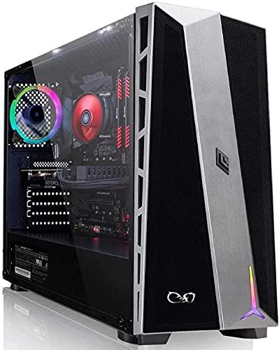 CeO-Tech Zeta V2 PC Gaming - Ryzen 3 4300GE Quad Core 4.00 GHz | RAM 16GB DDR4 | SSD 500GB | Renoir Radeon RX Vega 6 | Ultra HD 4K | Wi-Fi | Windows 10 PRO