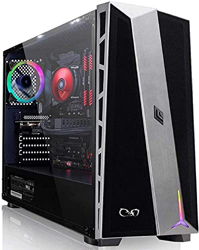 CeO-Tech Zeta V2 PC Gaming - Ryzen 3 Quad Core 4.00 GHz | RAM 16GB DDR4 | SSD 500GB | Renoir Radeon RX Vega 6 | Ultra HD 4K | Wi-Fi | Windows 10 PRO