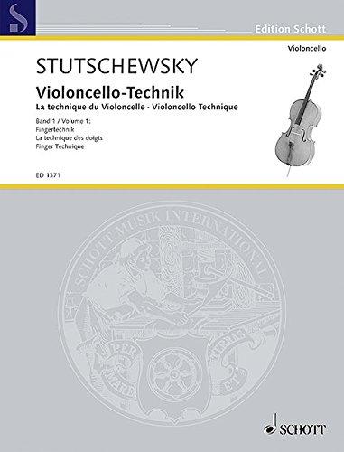 Violoncello-Technik: Fingertechnik. Band 1. Violoncello. (Edition Schott)
