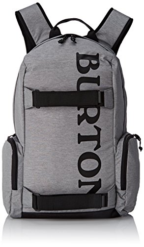 Burton Unisex Alltagsrucksack Emphasis, Grey Heather, 31 x 19 x 47 cm, 26 Liter, 16328100079