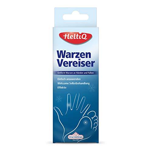 HeltiQ – einfacher und effektiver Warzenentferner Vereiser – Entfernt Warzen an Händen und...