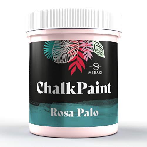 CHALK PAINT Pintura efecto tiza al agua mate (500ML, ROSA PALO)