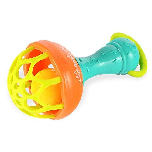 PULABOBaby sonajero bola de juguete para bebés juguetes agitadores sonajeros bebé mancuerna mano campana de calidad superior y creativo