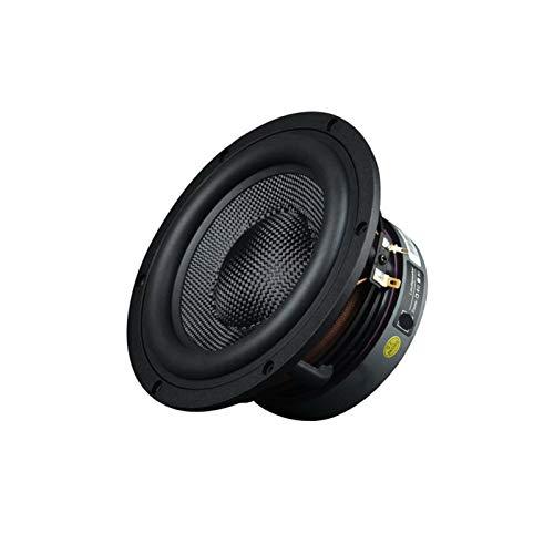 Wnuanjun 1 STÜCK 6,5 Zoll Super Bass Subwoofer 160W 3- Way Lautsprecher Soundbar DIY High Power Audio 8Ohm für Heimkinosystem (Größe : 8 Ohm)